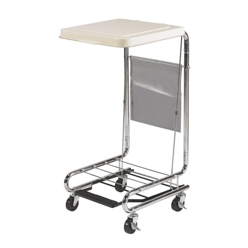 Hamper Stand with Poly Coated Steel - Patient Room