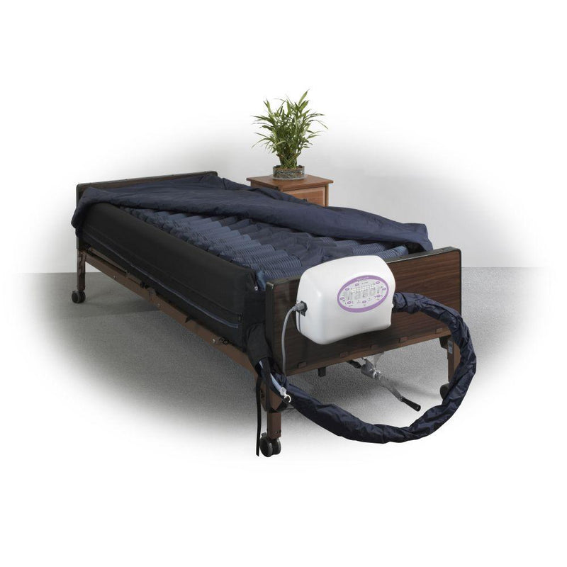 Lateral Rotation Mattress with on Demand Low Air Loss 10 -