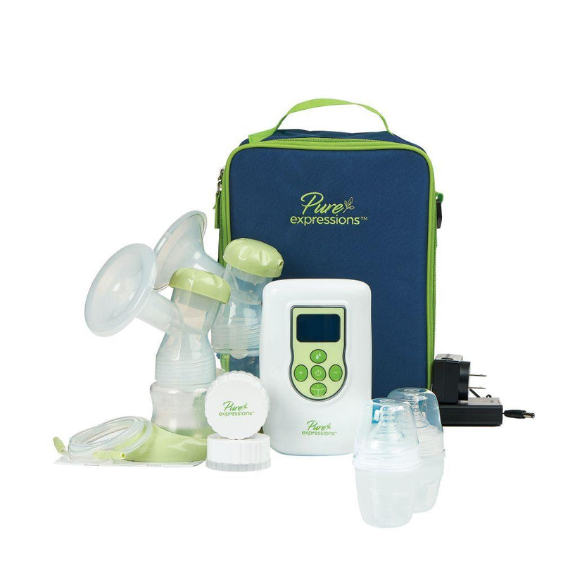 Pure Expressions Dual Channel Electric Breast Pump -