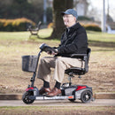 Scout Compact Travel Power Scooter 3 Wheel Extended Battery