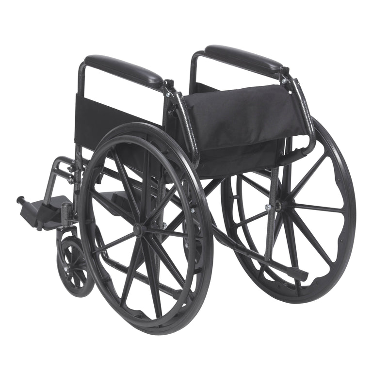 Silver Sport 1 Wheelchair with Full Arms and Swing away