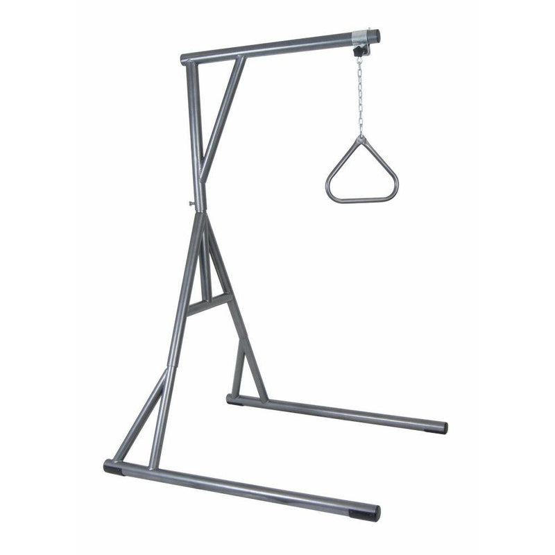 Bariatric Heavy Duty Trapeze Bar Silver Vein - Patient Room