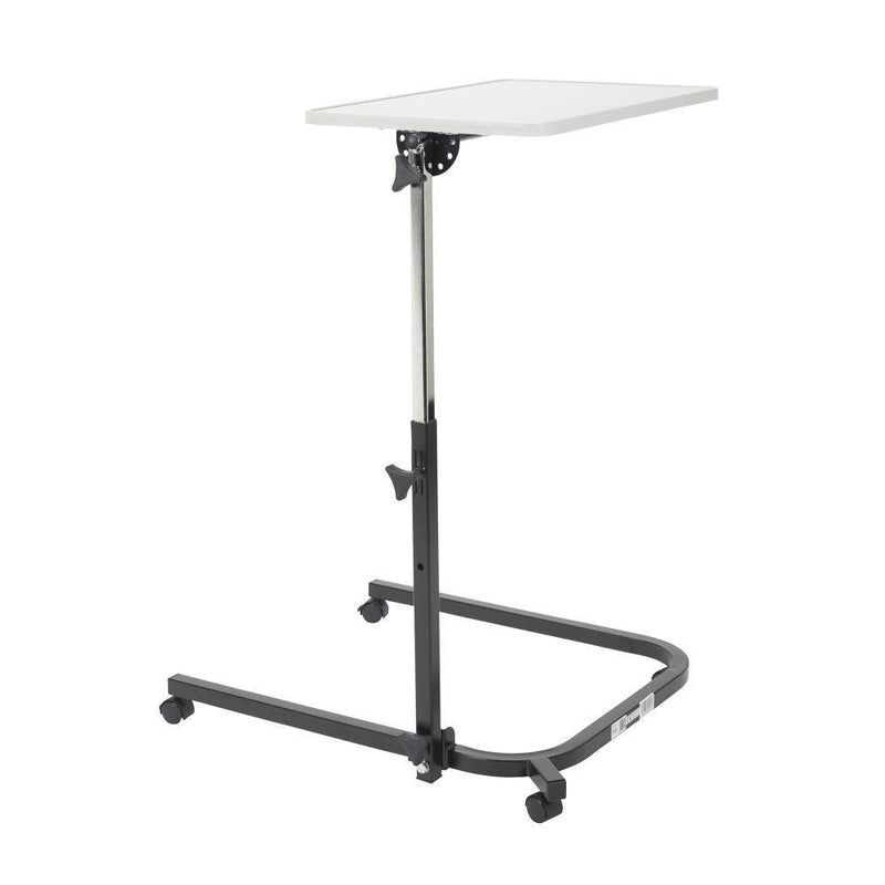 Pivot and Tilt Adjustable Overbed Table - Patient Room