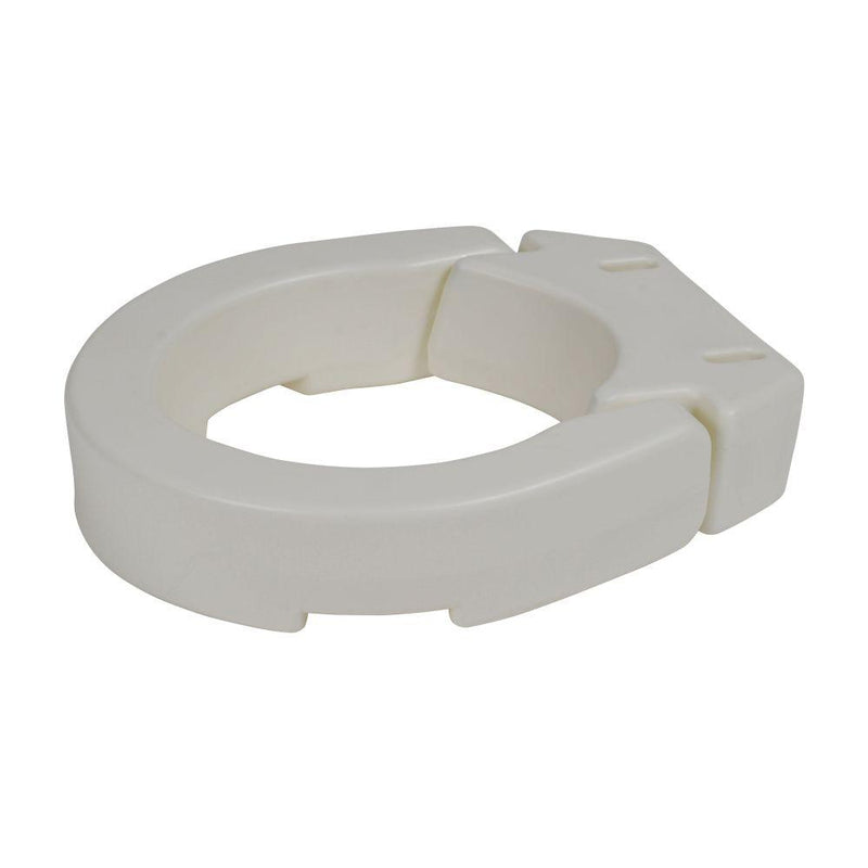 Hinged Toilet Seat Riser Standard Seat - Bathroom Safety