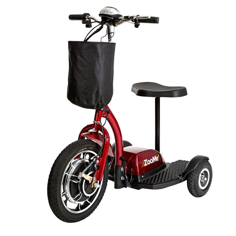 ZooMe Three Wheel Recreational Power Scooter - Power
