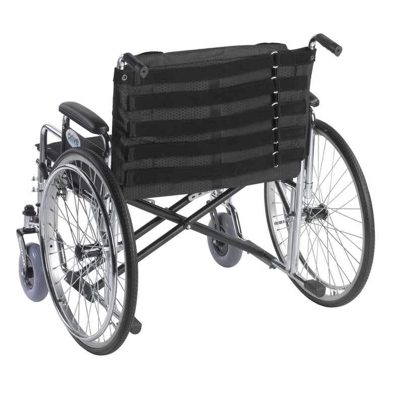 Adjustable Tension Back Cushion for 22-26 Wheelchairs -