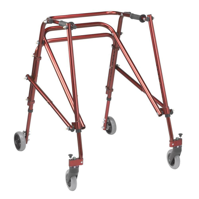 Nimbo 2G Lightweight Posterior Walker Large Castle Red -