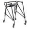 Nimbo 2G Lightweight Posterior Walker with Seat Extra Large