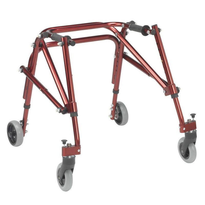 Nimbo 2G Lightweight Posterior Walker Small Castle Red -