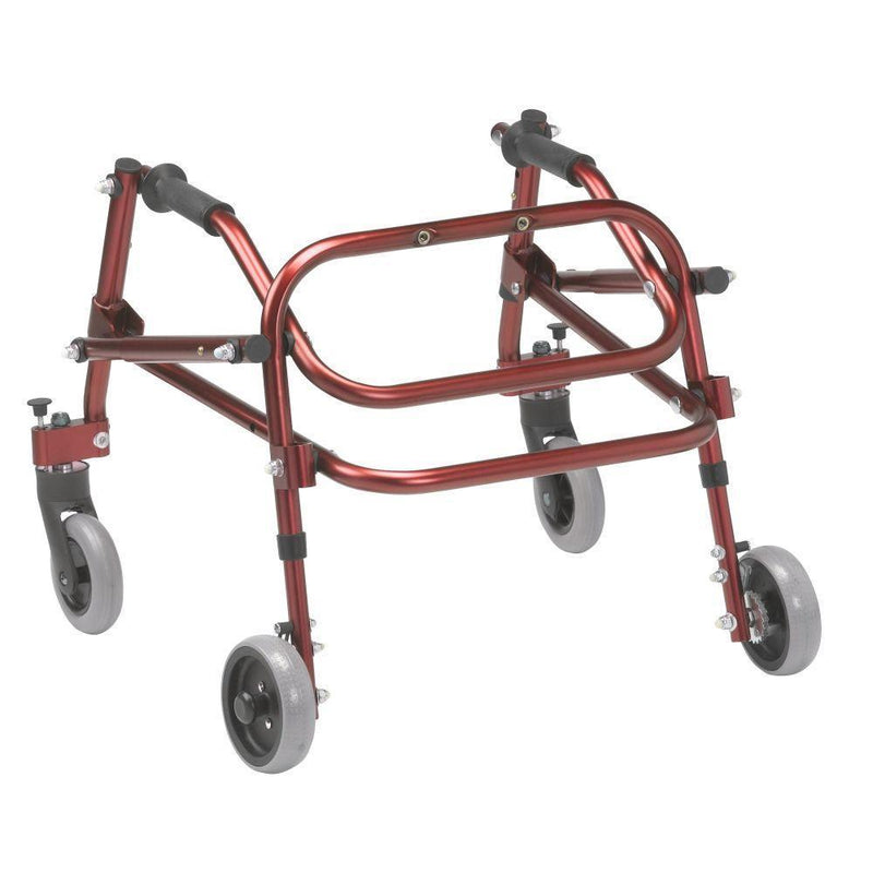 Nimbo 2G Lightweight Posterior Walker Extra Small Castle Red