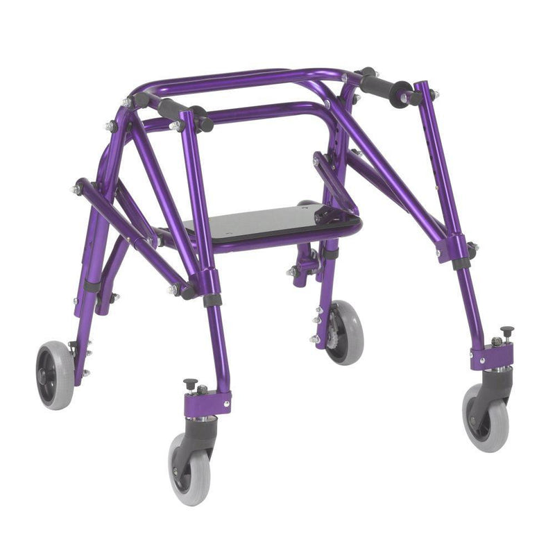 Nimbo 2G Lightweight Posterior Walker with Seat Small Wizard
