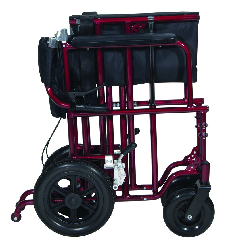Bariatric Heavy Duty Transport Wheelchair - Transport Chairs