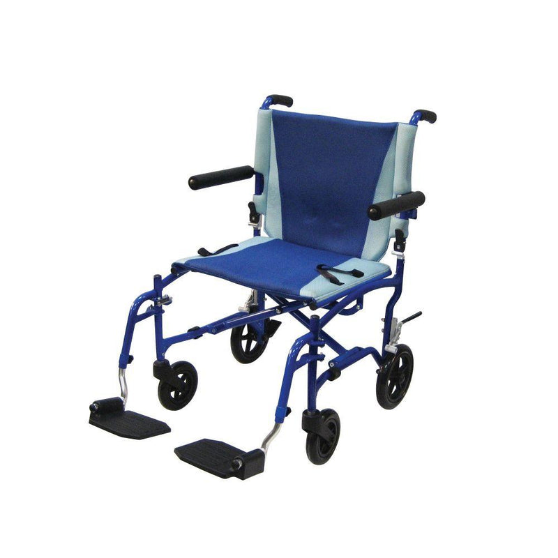 TranSport Aluminum Transport Wheelchair - Transport Chairs