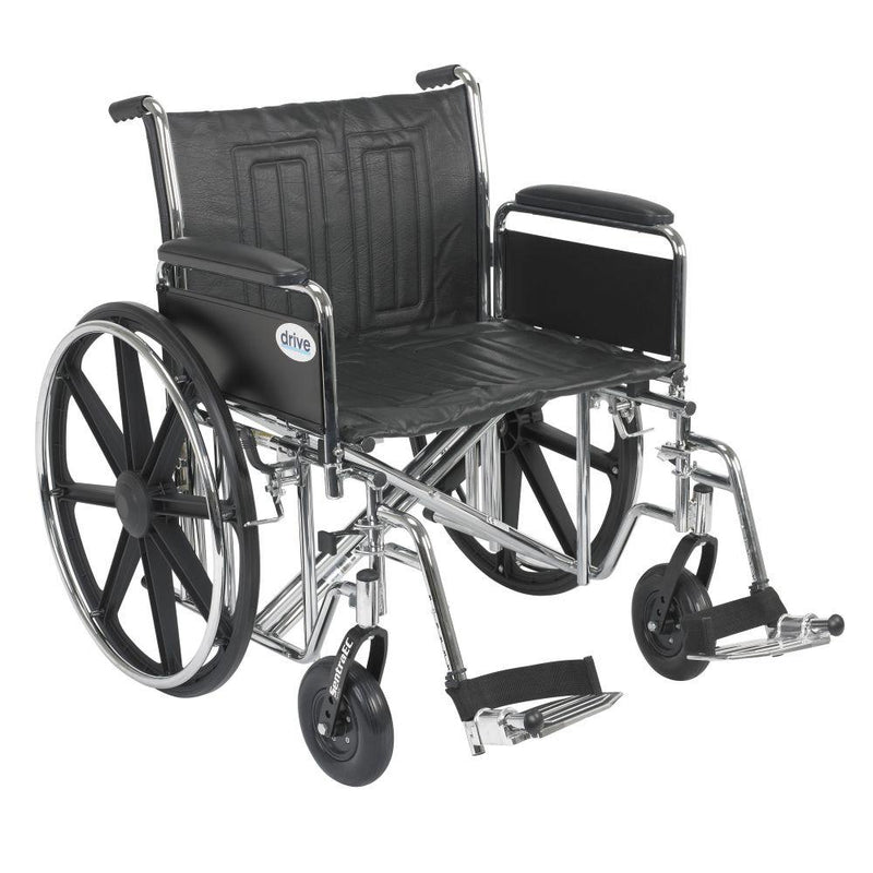 Sentra EC Heavy Duty Wheelchair Detachable Full Arms Swing
