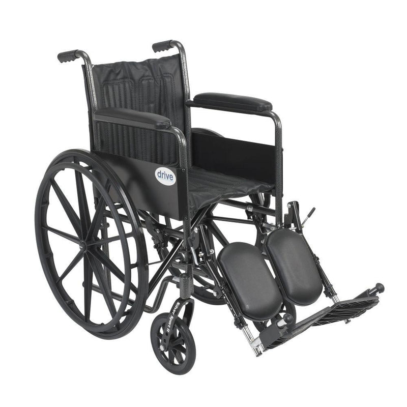 Silver Sport 2 Wheelchair Non Removable Fixed Arms Elevating