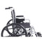 Poly Fly Light Weight Transport Chair Wheelchair with Swing