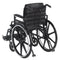 Adjustable Tension Back Cushion for 16-21 Wheelchairs -