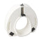 Premium Plastic Raised Toilet Seat with Lock Elongated -