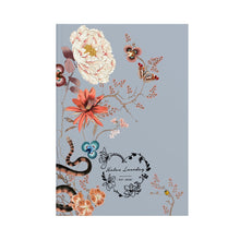 Load image into Gallery viewer, Hardback Notebook Magic Blooms at Midnight (Powder Blue)