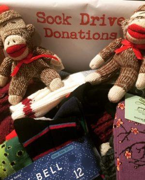 4th Annual Sock Drive is Underway!