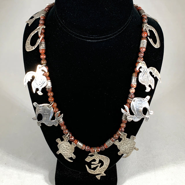 Mimbres Charm Necklace