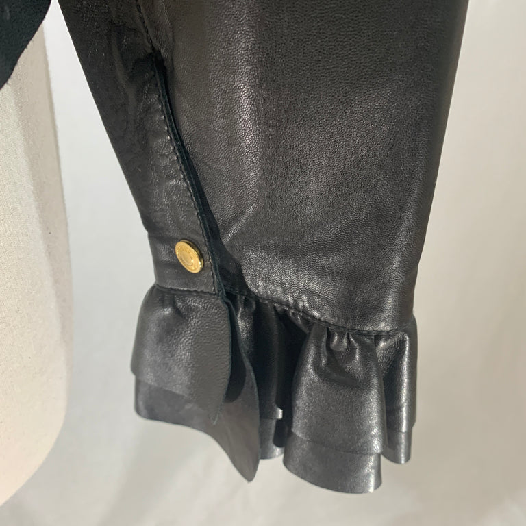 Gucci Leather Blouse