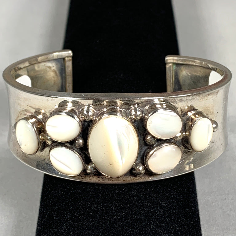 Mother-of-Pearl & Sterling Cuff