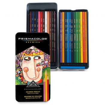 Prismacolor 24 Colored Pencils
