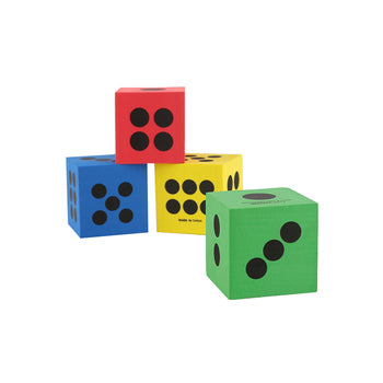 Jumbo Foam Playing Dice