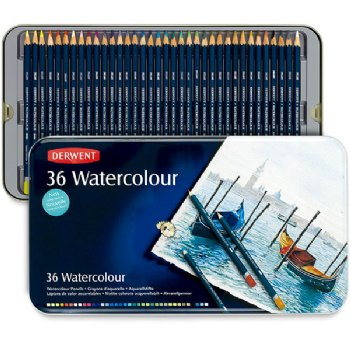 Derwent 36 Watercolour Pencils