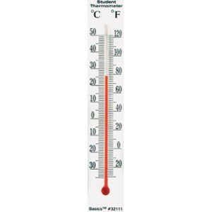 Dual Scale Bulb Thermometer