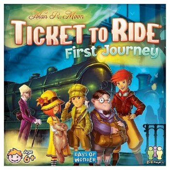 Ticket To Ride-First Journey