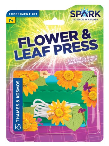 Flower & Leaf Press - Spark