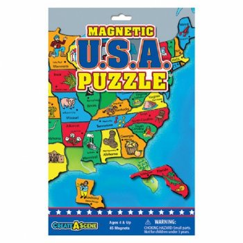 USA - Magnetic Puzzle