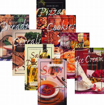 Set of 8 - Cooking Booklets