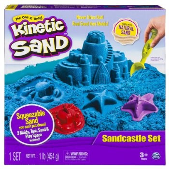 Kinetic Sand Sandcastle Kit