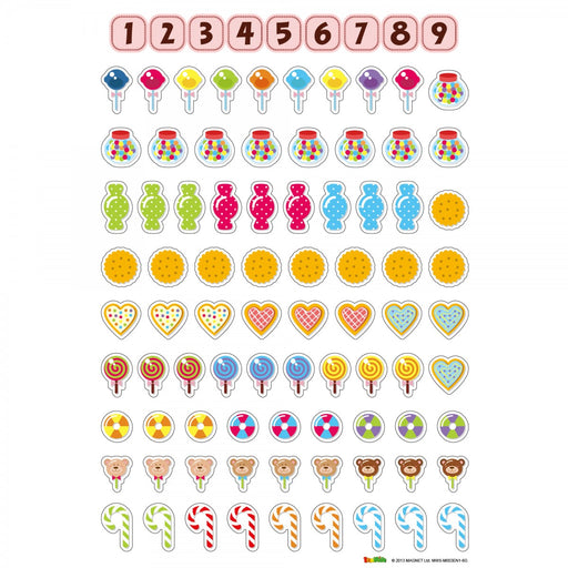 Magnetic Wall Sticker Counting