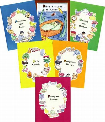 Preschool ABC series(Set of 6)