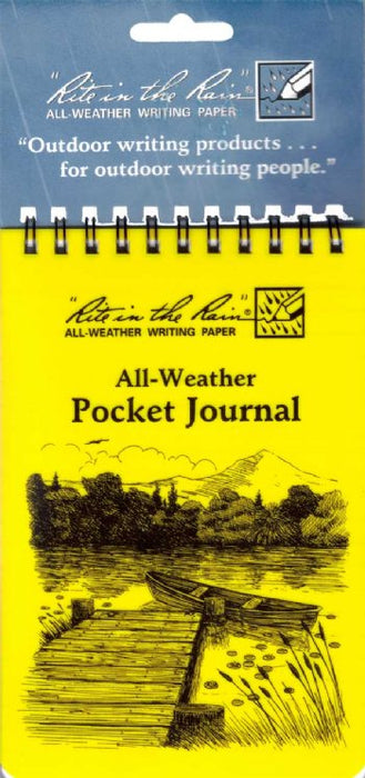 All Weather Pocket Journal