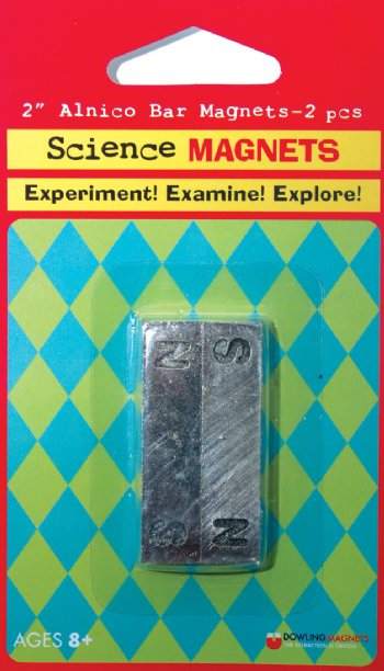 Alnico Bar Magnet - Pair