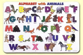 Alphabet w/Animals - Mat