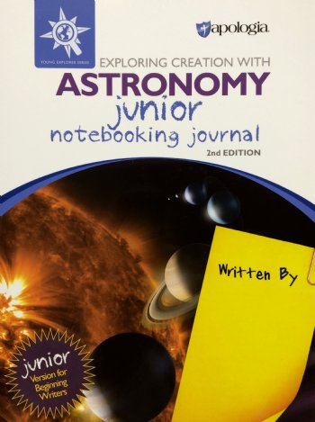 Astronomy 2nd Edition Junior Notebooking Journal