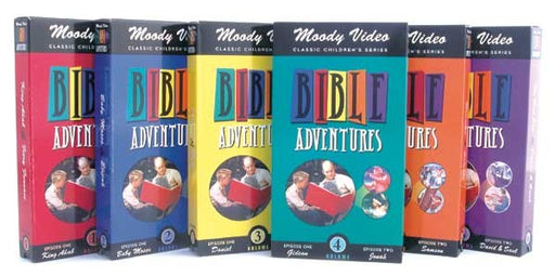 Bible Adventures Video Set of 6