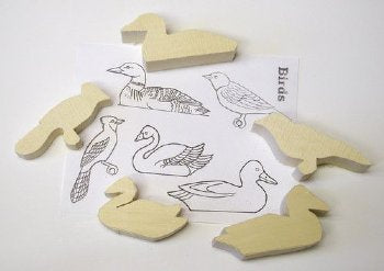 Birds - Carving Blanks