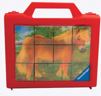 Animals - 12pc cube puzzle