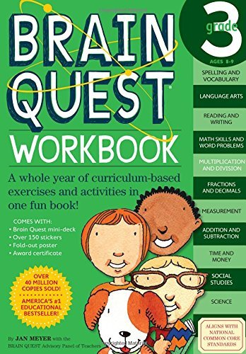 Brain Quest Workbook- Grade 3