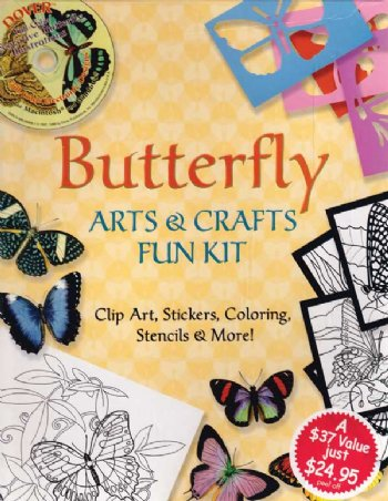 Butterfly Arts & Crafts Kit