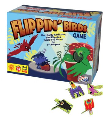 Flippin Birds Game Box