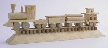 *Train base wood kit