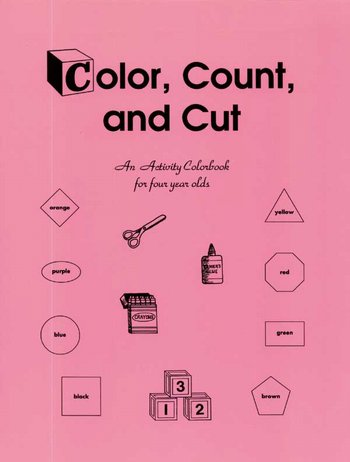Color, Count & Cut-Preschool